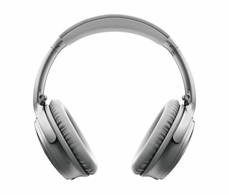 Bose QuietComfort 35 II trådlösa hörlurar Silver i gruppen Hemmaljud    Hörlurar   Over-Ear 45692242b1271