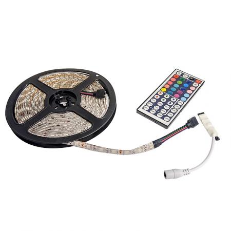 Bra LED tape RGB-kit med fjärrkontroll   NIZLED   Billjud   Brl.se VV-81