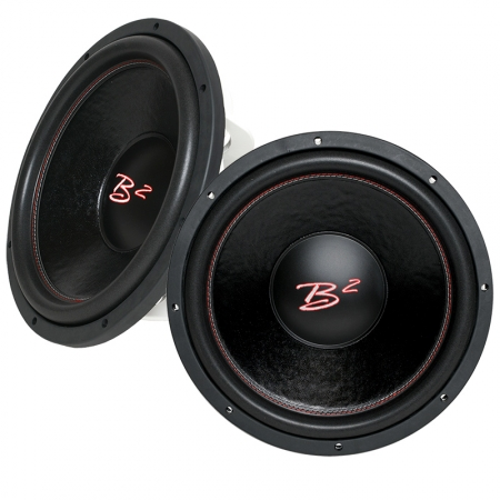 2-pack B2 AUDIO RIOT D2 12tum i gruppen Billjud / Bas / 2-pack hos BRL.se  (SET2XRIOT12D2)