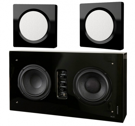 DLS D-One   Flatsub Stereo One 2.1 stereopaket cf00c8b9a8ec6