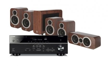 Yamaha RX-V585   Q Acoustics 3010i högtalarpaket 5.1 17b1c7b04dacc