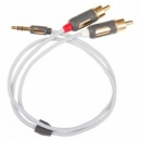 Supra MP-Cable 3,5mm Stereo x 2RCA 2 meter