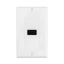 Wall plate HDMI System One WP881