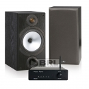 Tangent Ampster BT & Monitor Audio MR2