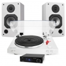AUDIO TECHNICA AT-LP3 MED DYNAVOICE S-6 & SMSL Q5 VINYLPAKET