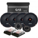 GAS PM64 med GAS Competition 300.2 & PT34 SPL-Paket med filter