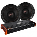 2 st B² audio IS12 v3 basar med GAS PRO2000.1 monoblock