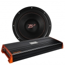 1 st B² audio IS12 v3 bas med GAS PRO2000.1 monoblock