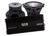 Rockford Fosgate Punch P3D412 2st + GAS Competition 3500.1D G2