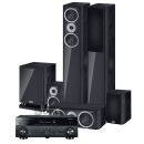 Yamaha RX-A660 & HECO Music Style 5.1-system Svart