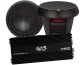 2st Rockford Fosgate T0D210 & GAS Competition 3500.1D