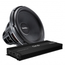 ROCKFORD FOSGATE T3S1 19tum med GAS COMPETITION 5000.1D