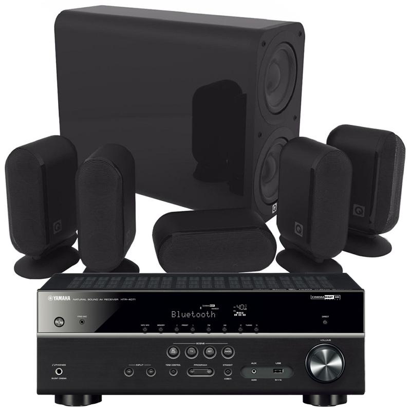 Yamaha HTR-4071   Q Acoustics 7000i Plus 5.1 paket 19d5c8bdbb362