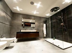 högtalare badrum